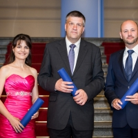 The winners of the international Dr. Bares Award 2013 received diplomas and a reward totalling €19,000. Congratulations!