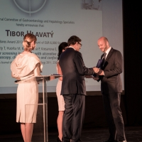 Second place went to Associate Professor Dr. Tibor Hlavatý, PhD., who had already received third place for the Dr. Bares Award in 2009.